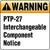 PT-27 Interchangeable Component Notice