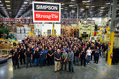 Simpson Strong-Tie Factory