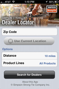 Mobile Dealer Locator