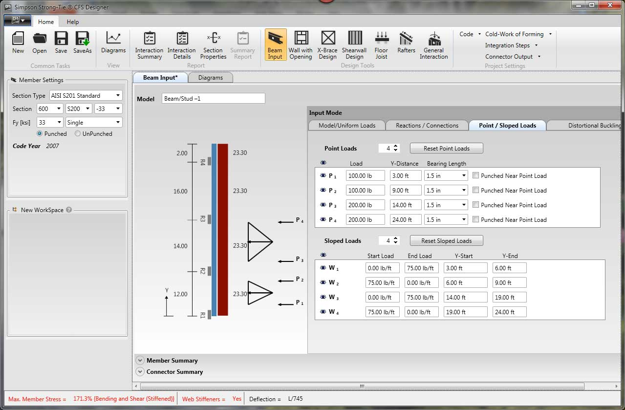 CFS Designer software screenshot 1