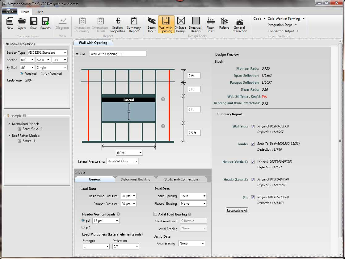 Stud Wall Design Software Free
