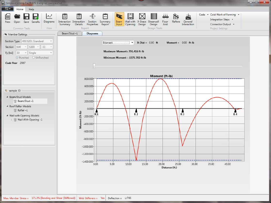 CFS Designer software screenshot 4